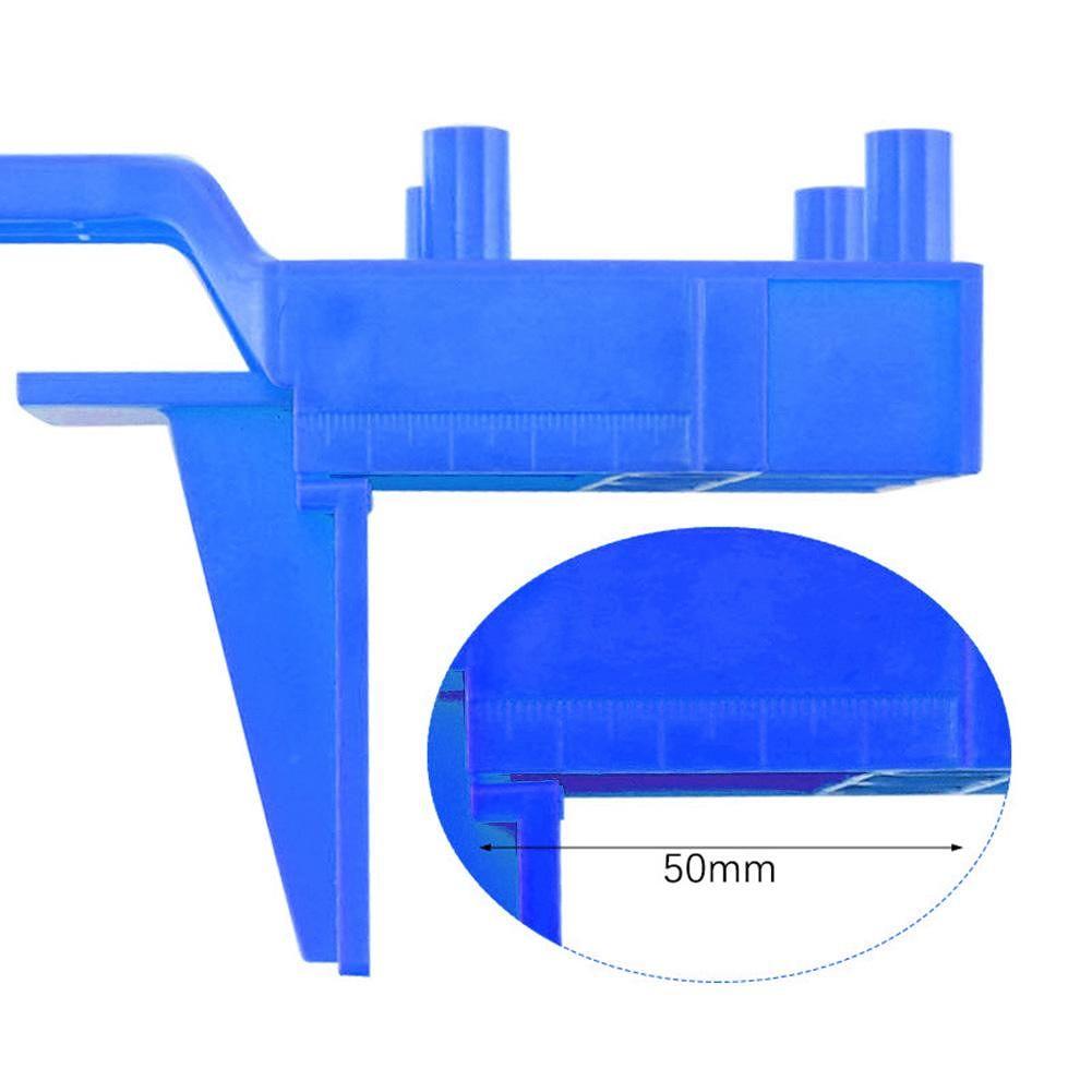 Pocket Hole Jig Handheld Dowel Woodworking Jig Drilling Guide Tools (41pcs)