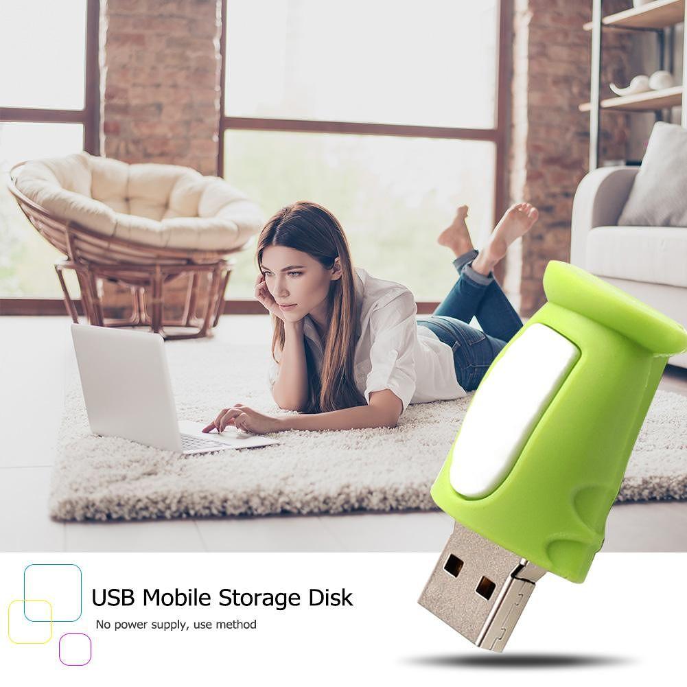 Portable Snake USB 2.0 Flash Drive U Disk Memory Data Storage Pen (64GB)