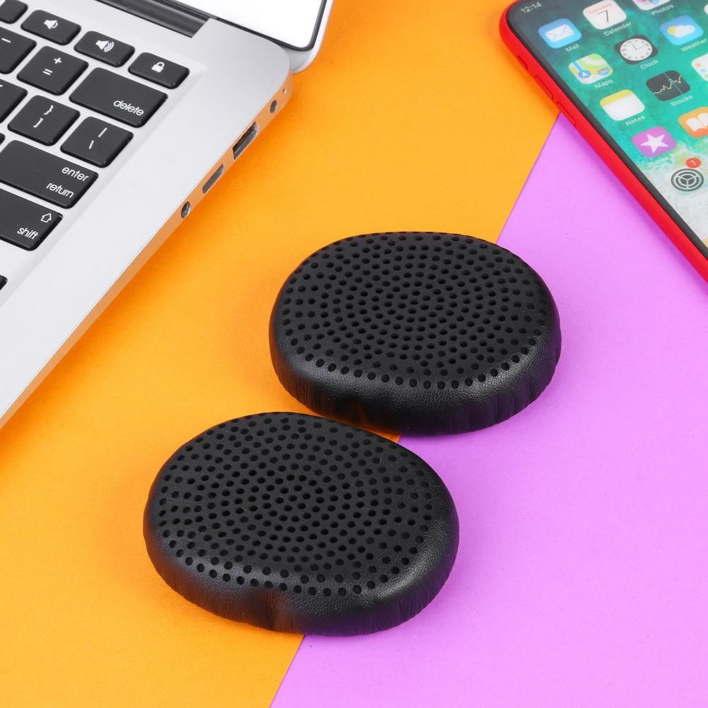 1 Pair Replacement Earpads for Skullcandy Riff Wireless Headphone (Black)