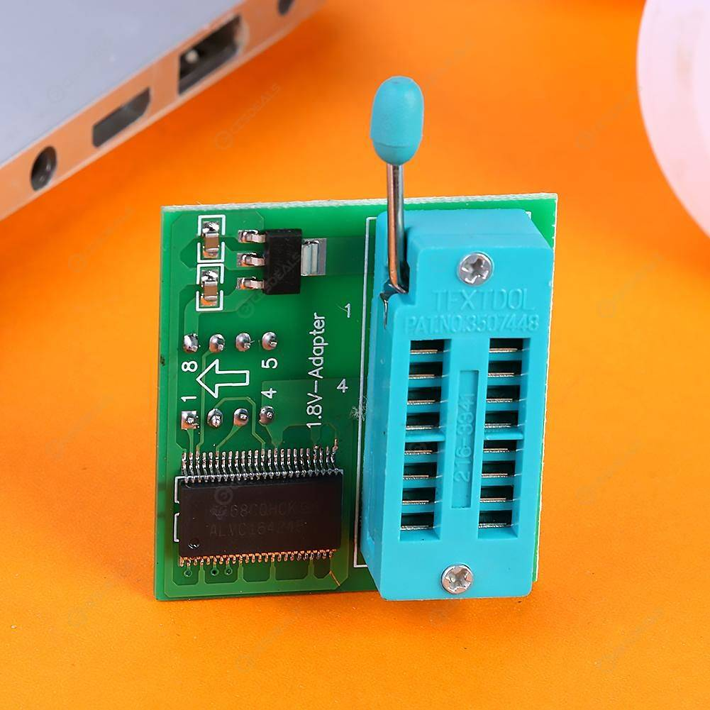 1 8V Adapter 1 8V SPI Flash SOP8 DIP8 W25 MX25 Programmers Motherboard