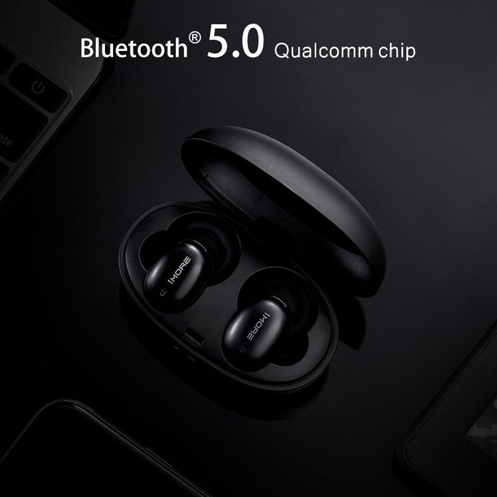 1MORE E1026BT-I Bluetooth 5.0 Wireless Earphones Mic In-Ear Earbuds (Black)