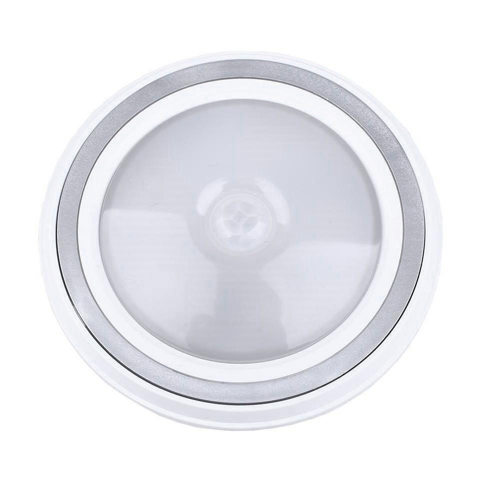 5LED Motion Sensor Night Light Cabinet Lamp Emergency Lights (Warm White)