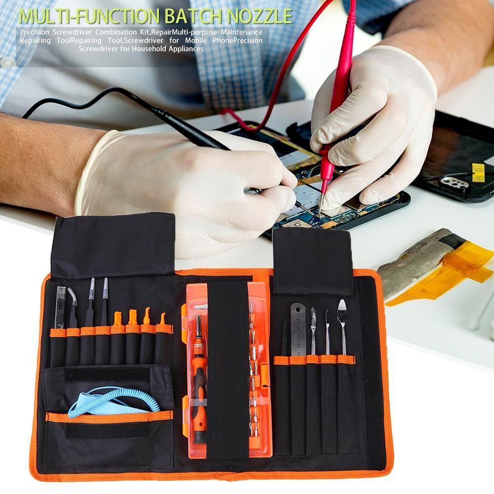 74pcs Precision Screwdriver Kit Multi-functional Mobile Phone Repair Tool