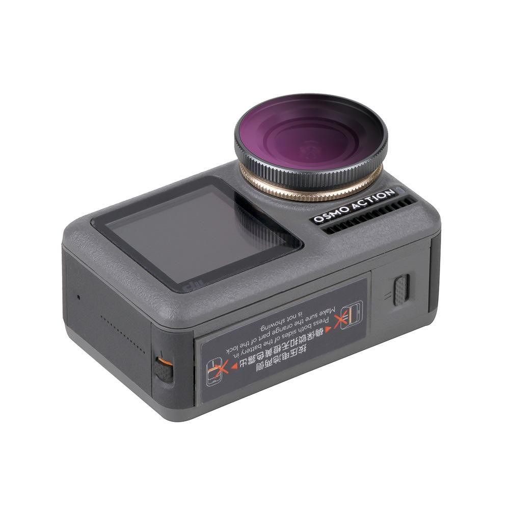 Diving Protect Lens Filter Filter Set for DJI OSMO Action Camera (OA-FI178)