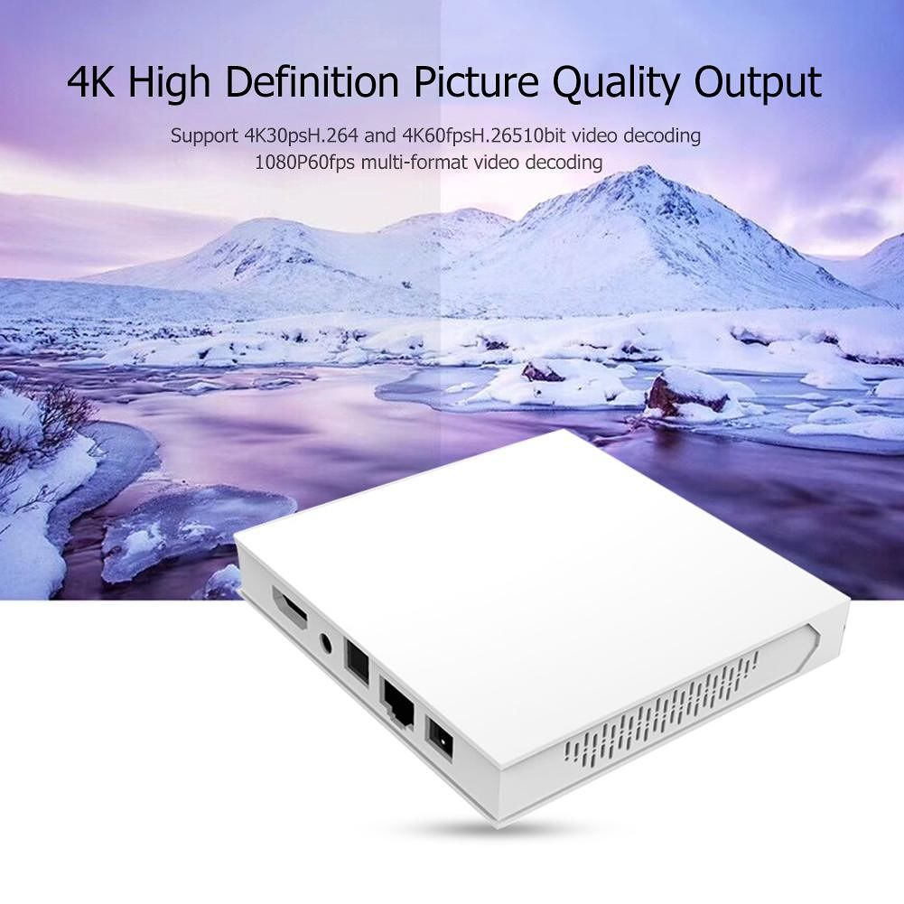 Trip 10 TV Box 4G+32G Android 9.0 RK3318 Quad-Core BT 4.0 Set Top Box (US)