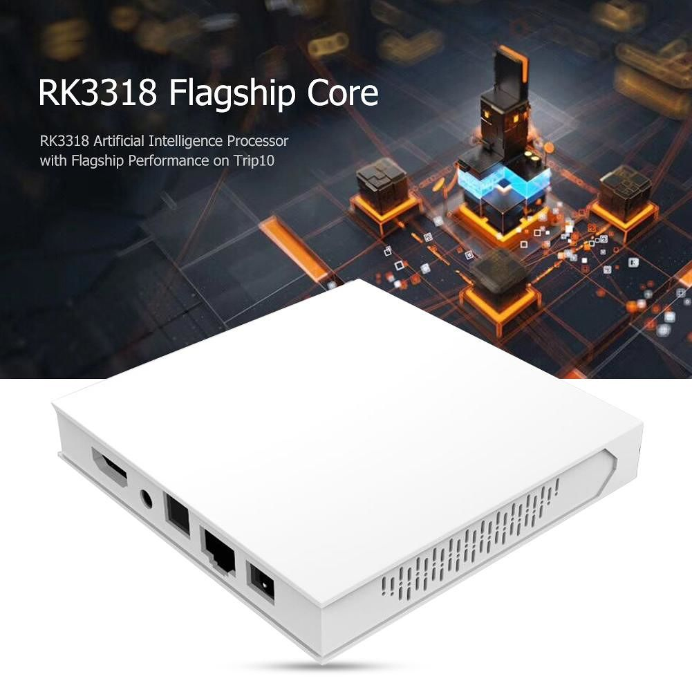 Trip 10 TV Box 4G+64G Android 9.0 RK3318 Quad-Core BT 4.0 Set Top Box (US)