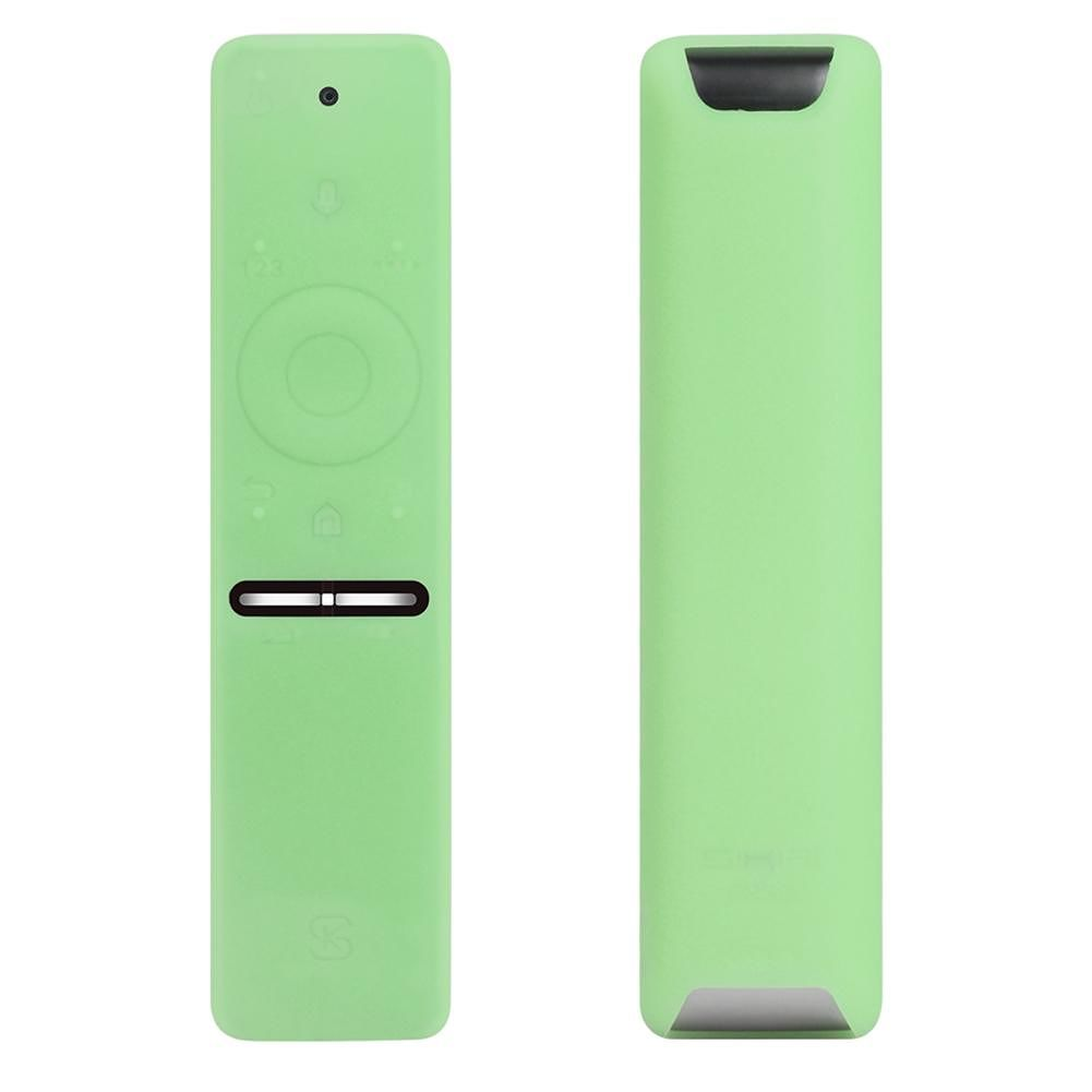 Silicone Case for Samsung TV Remote Control UA55KU6300J 6600J/6800 (Green)