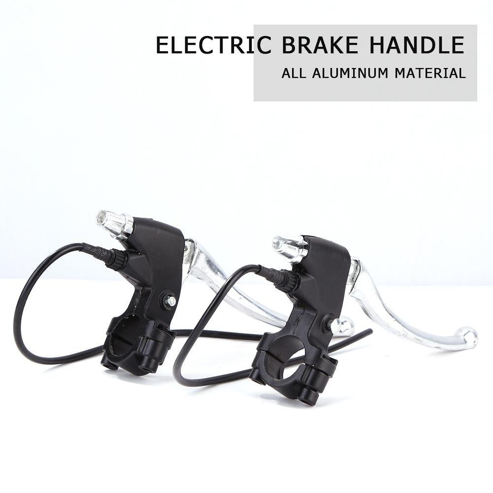 1 Pair Alloy Electric Brake Handles Pedal Electric Car Vehicle Brake Levers