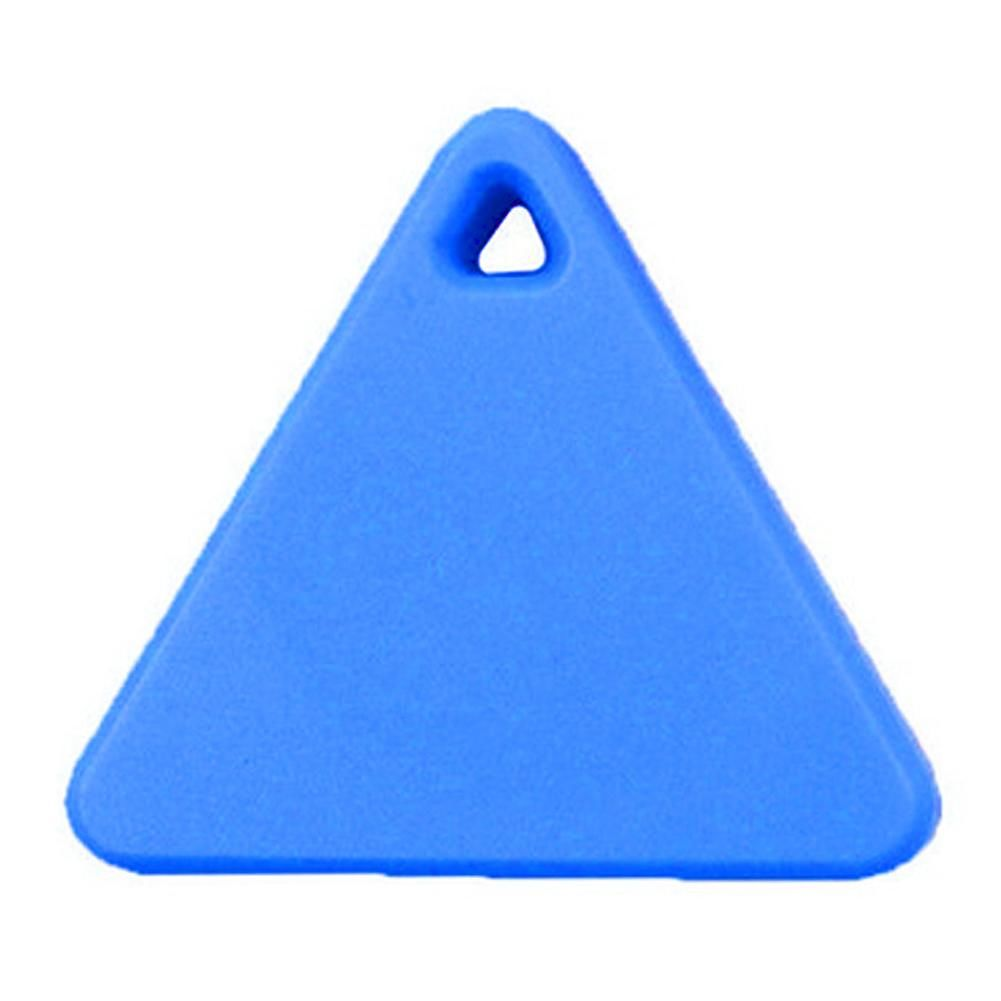 Pets Triangle Smart Mini GPS Tracker Anti-Lost Bluetooth Tracer (Blue)
