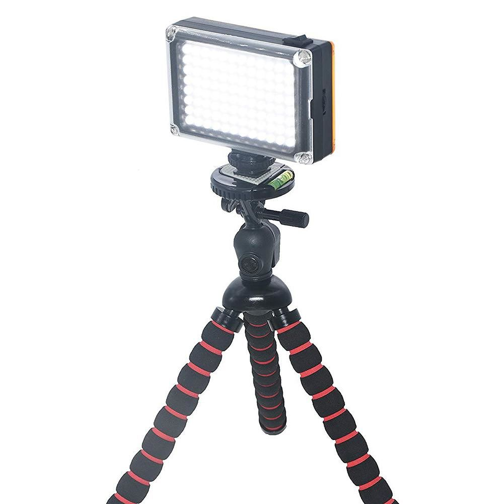 PULUZ 96 LEDs Photography Video Studio Light Filters Light Panel for Camera