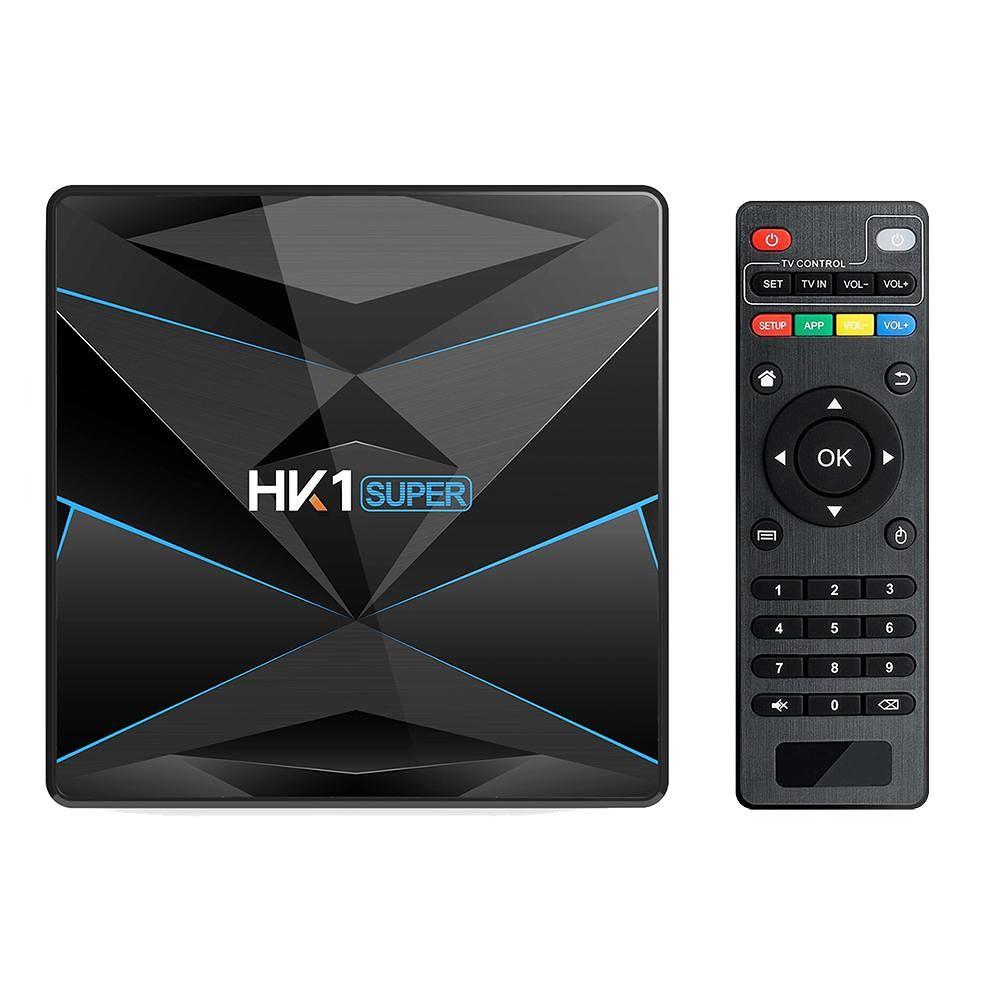 HK1 Super Android 9.0 4GB+64GB Quad Core 2.4G/5G WiFi BT Set Top Box (AU)