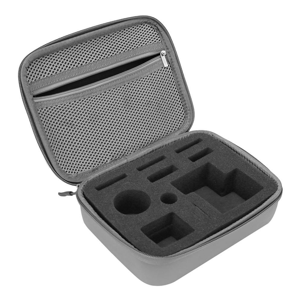 Carrying Case Protective Bag Storage Foam Bag for DJI Osmo Action (Grey)