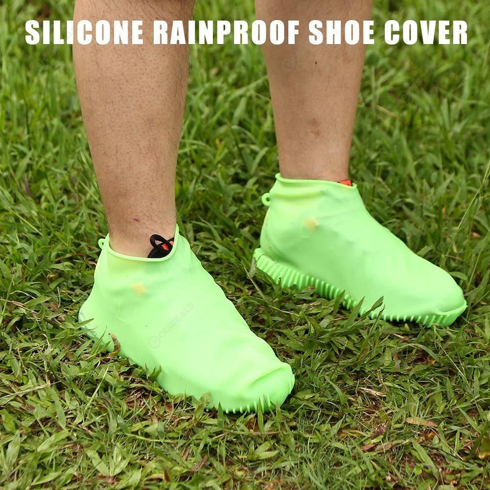 Rain Boots Waterproof Shoes Sleeve Silicone Overshoes Rainproof Shoe Cover