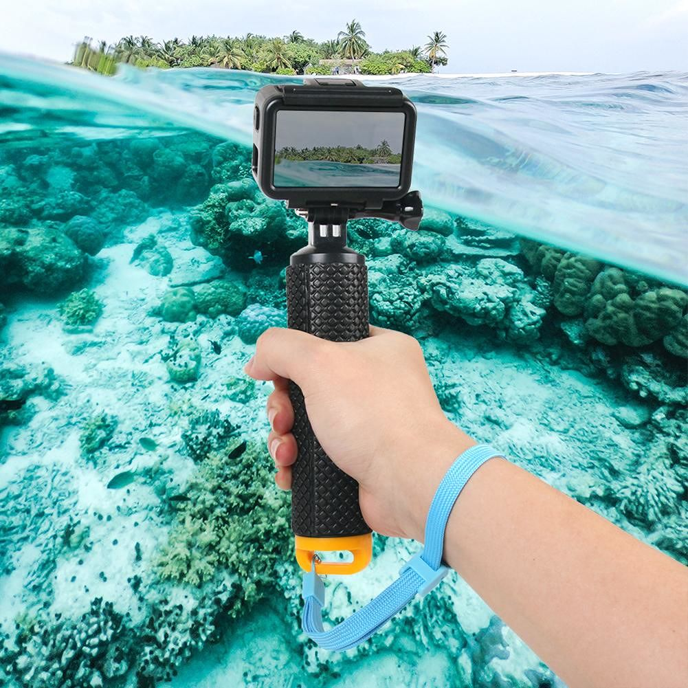 Waterproof Floating Hand Grip with Lanyard for DJI OSMO Action Sport Camera