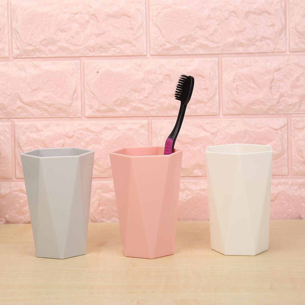 Toothbrush Toothpaste Squeezer Dispenser Bathroom Accessories Sets (White)