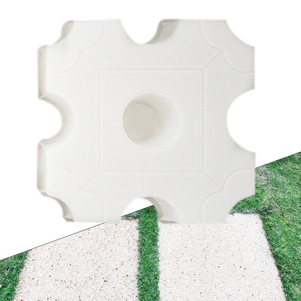 Concrete Pavement Mold DIY Path Maker Lawn Road Paving Cement Brick Mould