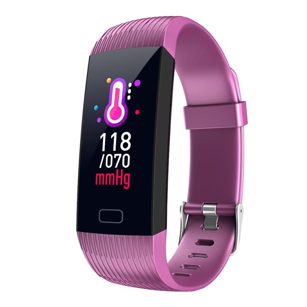 Z6 Smart Bracelet Heart Rate IP67 Waterproof Fitness Tracker Band (Purple)