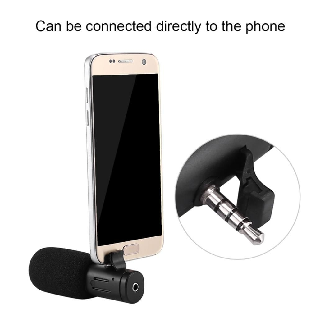 PULUZ 3.5mm Audio Filmmaking Recoding Photography Interview Microphone Mic