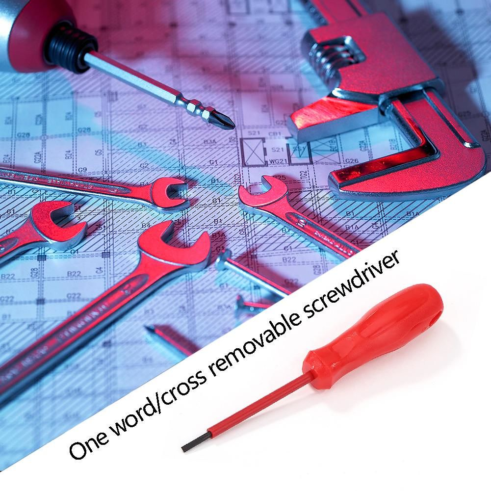 Phillips//Slotted Insulated Screwdriver Manual Screw Driver Repair Hand Tool