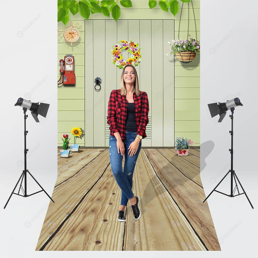 Fresh Warm Home Theme Photography Background Cloth Backdrop Decor (K2938)