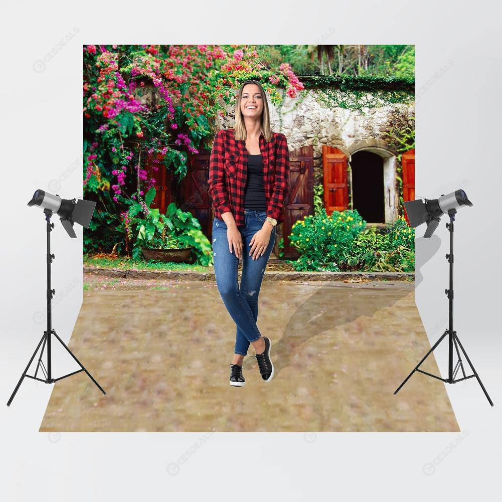 Fresh Home Theme Photography Background Cloth Backdrop Decor (1.5x1.5m)