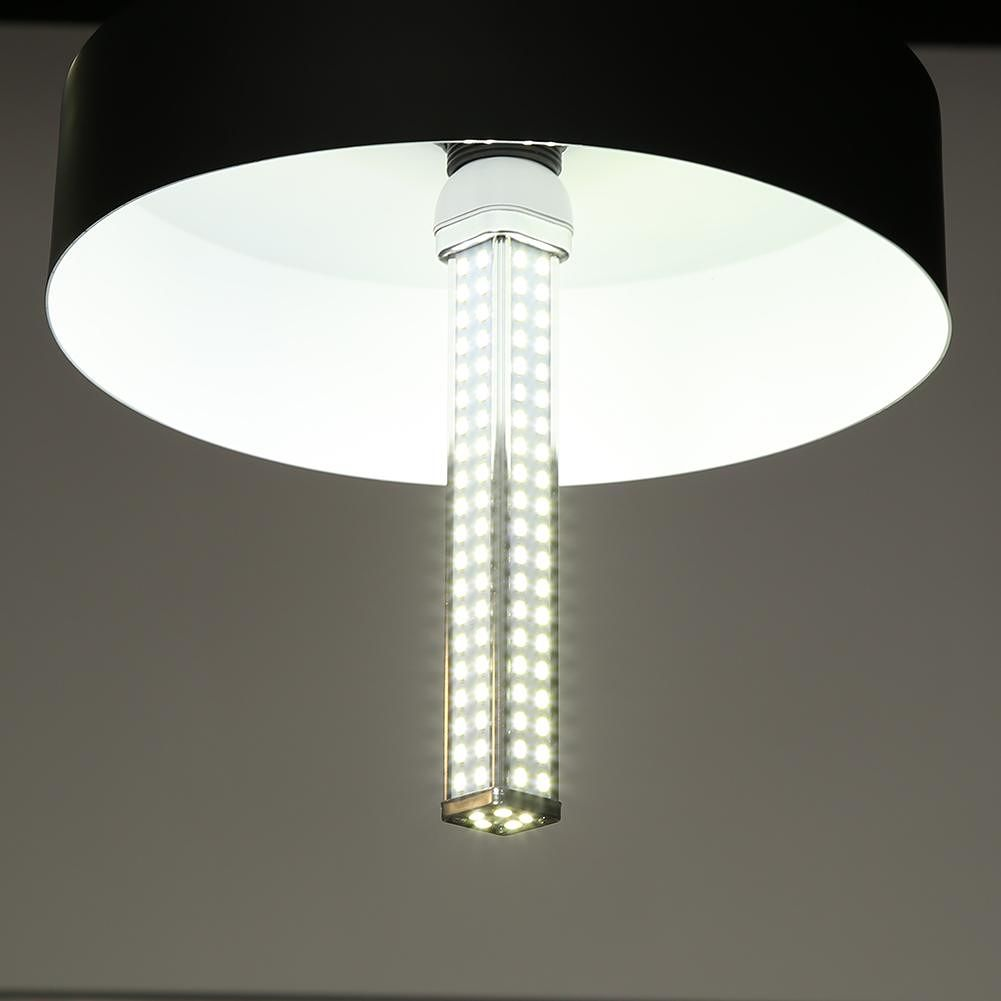 E27 LED Lamp SMD2835 165LED Square Corn Bulb Chandelier Light Home Lighting