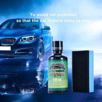 50mL Ceramic Car Coating Liquid Glass 10H Hardness Paint Care Nano Coating