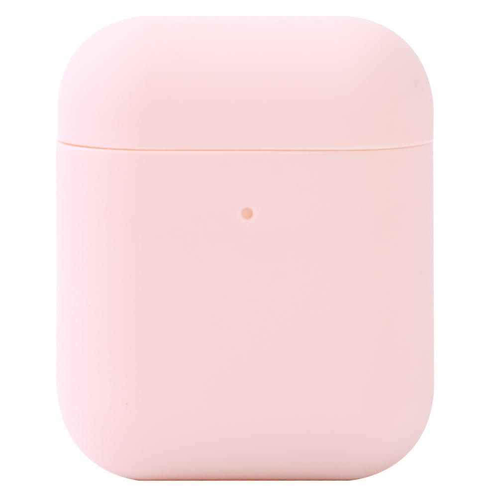 Wireless Earphone Silicone Case for Airpods Protector Charging Box (Pink)