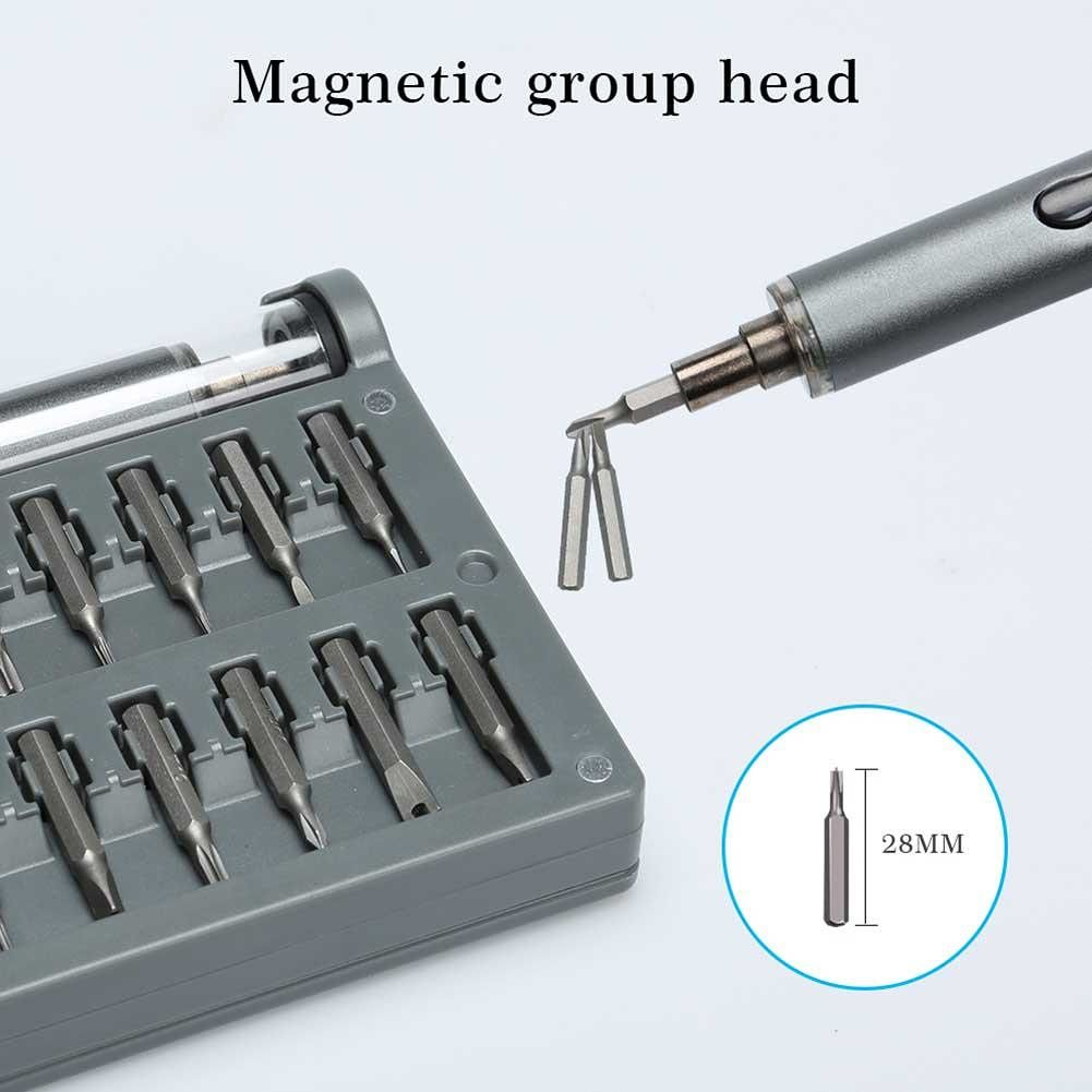 59 in 1 Mini Screw Driver Cordless Magnetic Electric Screwdriver Bit Set