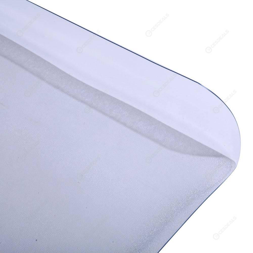 PVC Dull Polish Chairmat Protection Hard Floor Mat Office Chair Cushion Pad