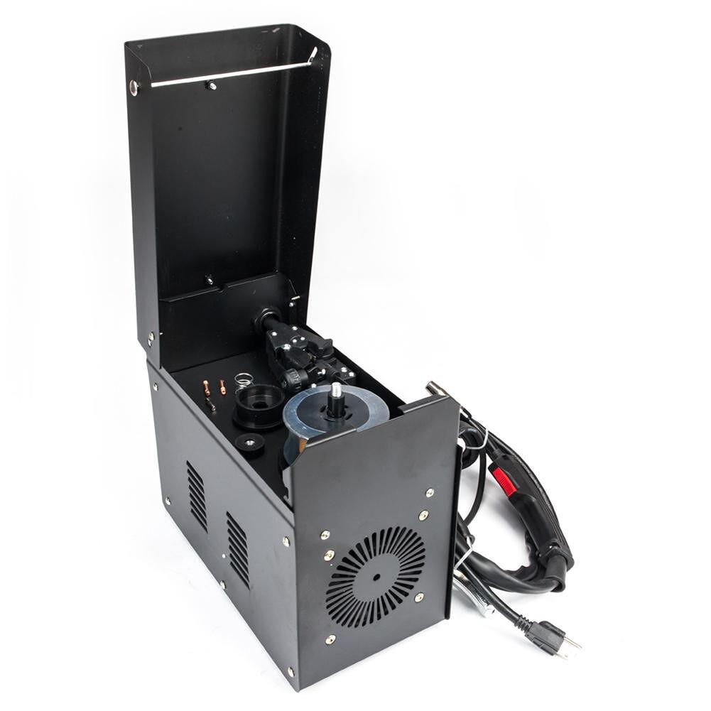 Powerful Black PVC 110V Electric Welding Machine for DIY Welding Working