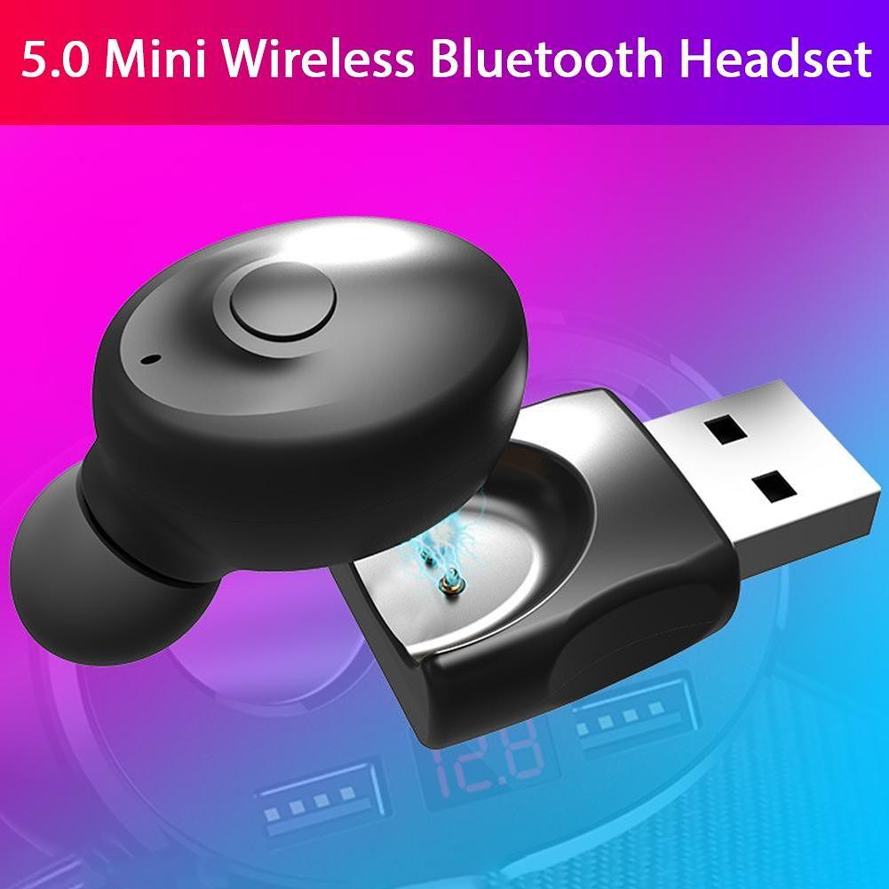 XG-17U Wireless Business Monaural Bluetooth 5.0 Headset with Mic (2pcs)