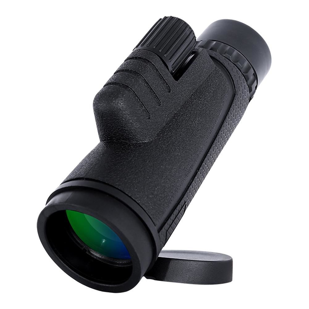 Portable Mini BAK4 Monocular Telescope 10x42 Zoom Outdoor Single-Tube Scope