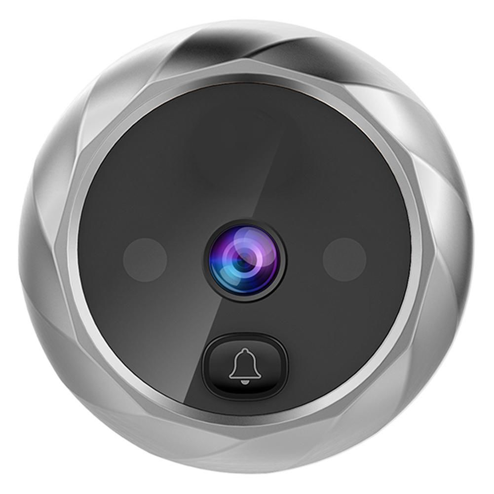 DD1 Infrared Motion Sensor Long Standby Night Vision Door Bell (Silver)