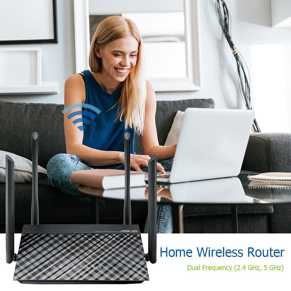 ASUS RT-AC1200 2 4/5GHz Wireless Router 1200Mbps Dual Band Wifi Extender