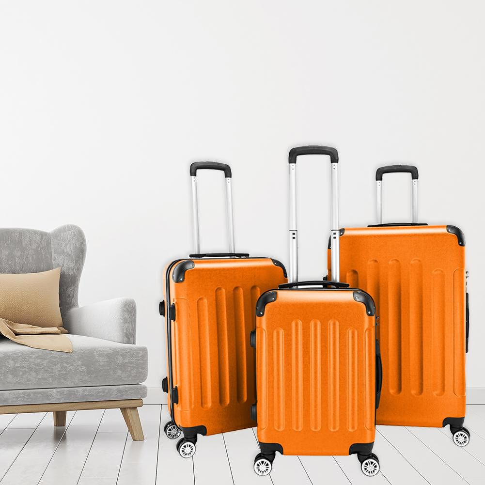 Orange Case Portable Trolley Suitcase 20\\