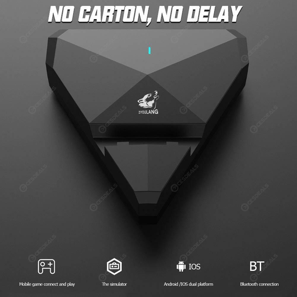 G5 Phone PUBG Bluetooth Gamepad Gaming Keyboard Mouse Converter Adapter