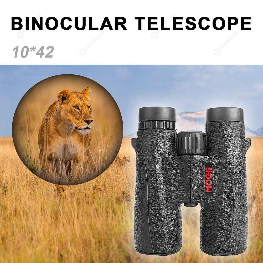 HD Portable 10x42 Binocular Telescope Wide Angle Folding for Hunting Travel