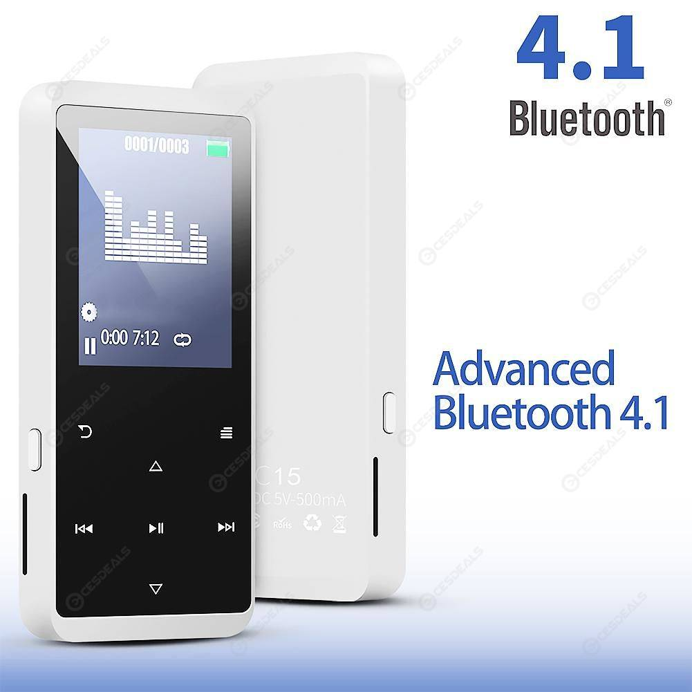 C15 Bluetooth 4.1 HiFi MP4 Player Media Video Radio ...
