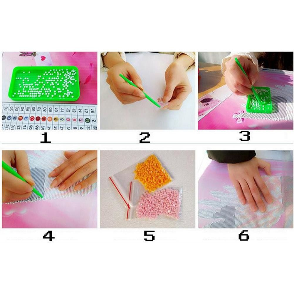 5D DIY Full Drill Diamond Painting Animal Embroidery Mosaic Craft Kits (09)