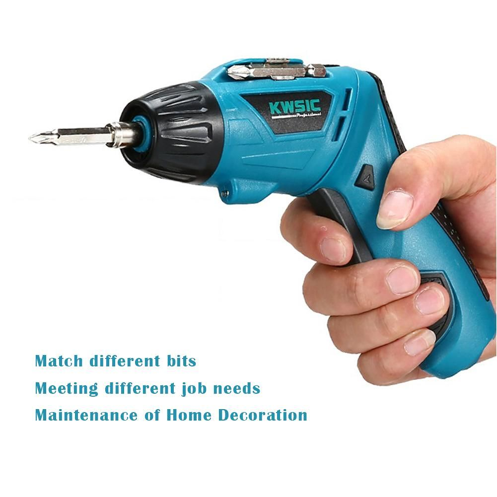 4.8V Cordless Electric Screwdriver Rechargeable Mini Hand Drill Power Drill
