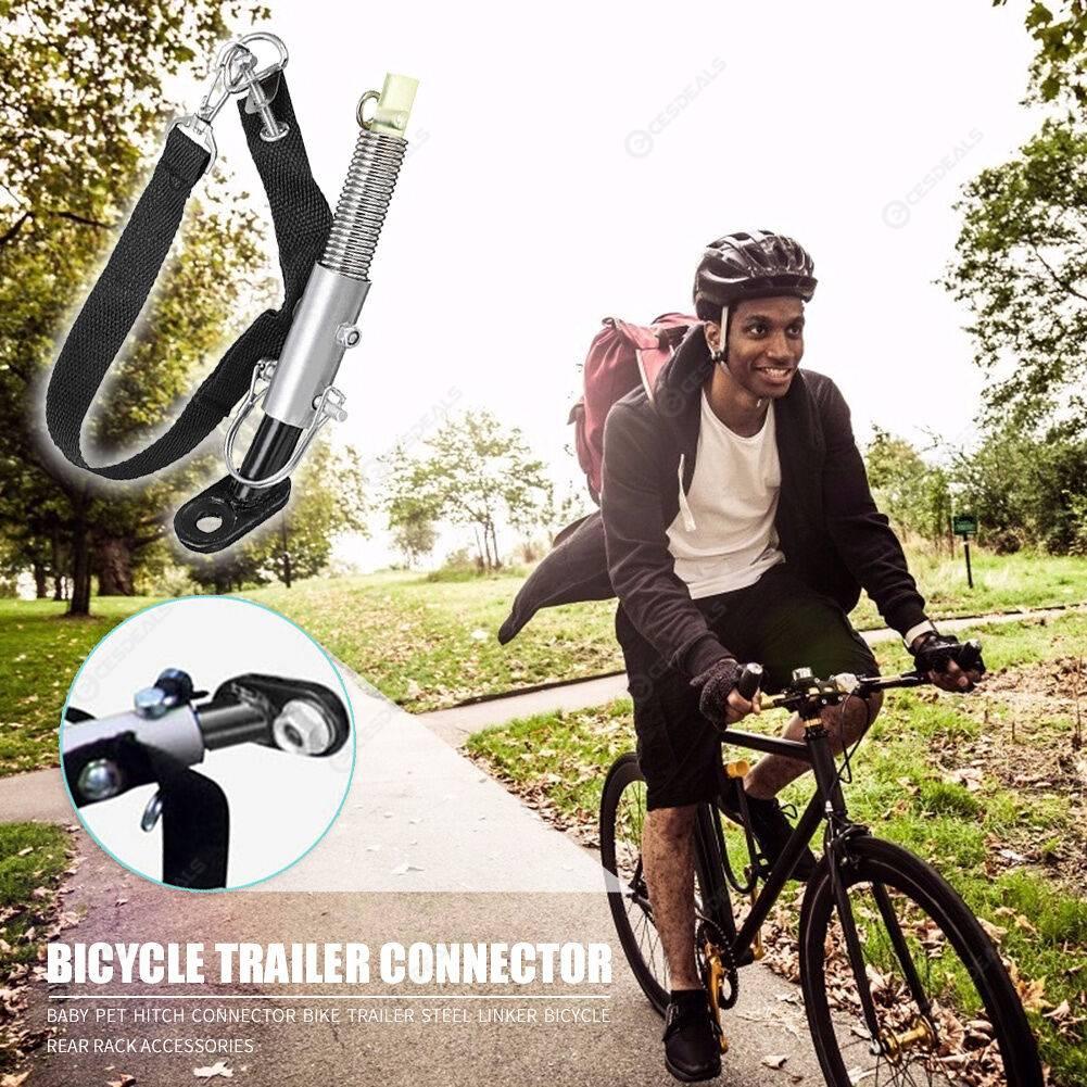 Bike Trailer Steel Linker Bicycle Rear Rack Baby Pet Hitch Linker Connector