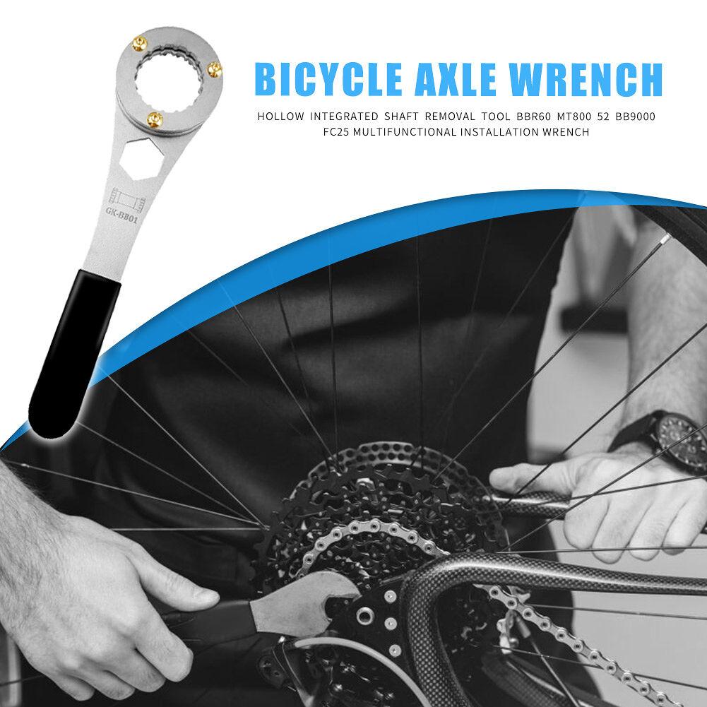 3 in 1 Bike Bottom Bracket Wrench Spanner Cycling Bicycle Repair Tools