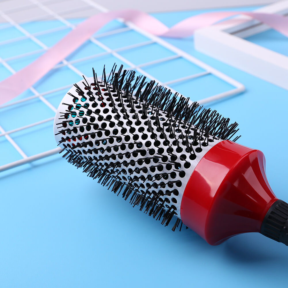 Roller Comb Ceramic Curly Brush Heat Resistant Hair Styling Tools (70mm)