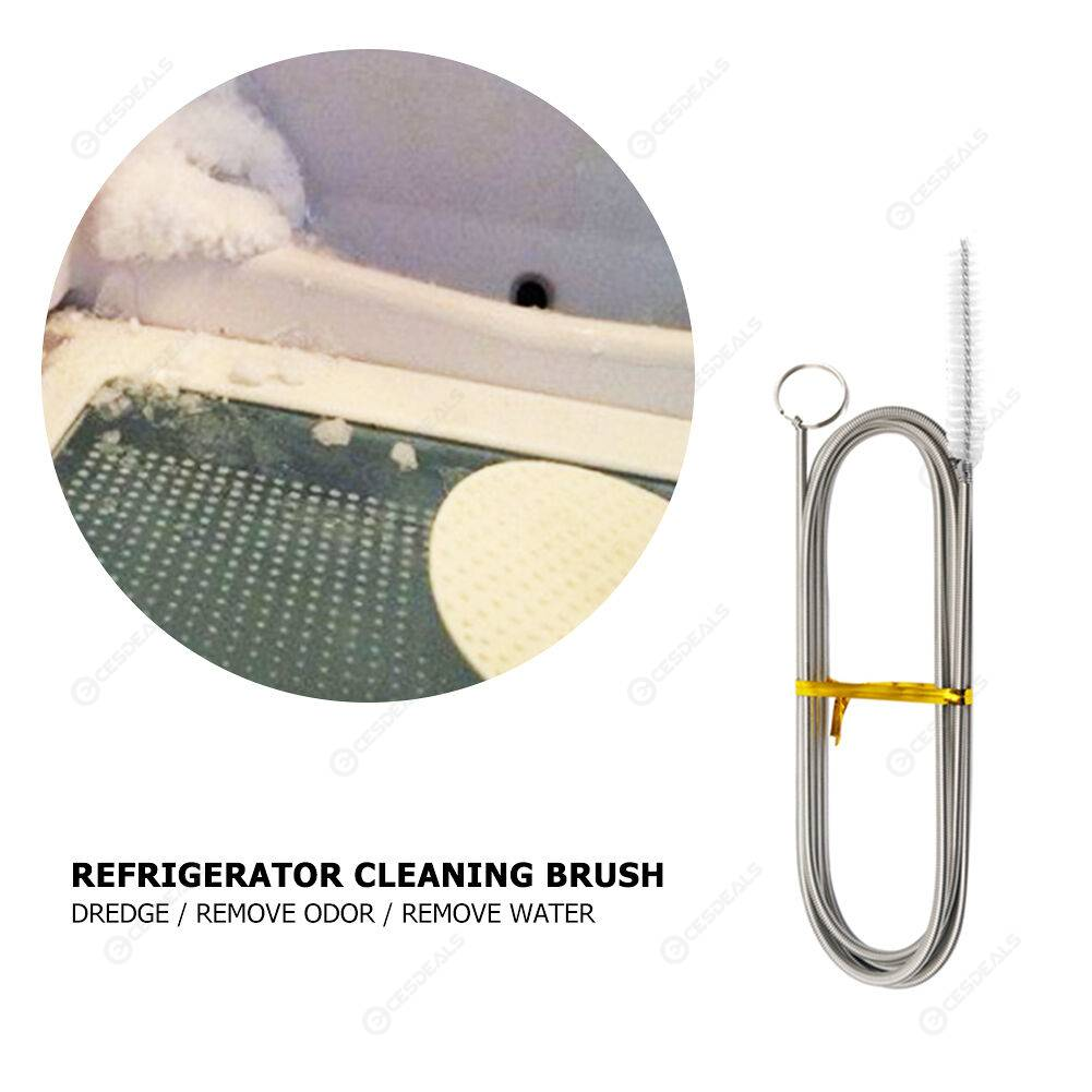 Long Flexible Refrigerator Cleaning Brush for Home Pipe Drain Cleaning Tool