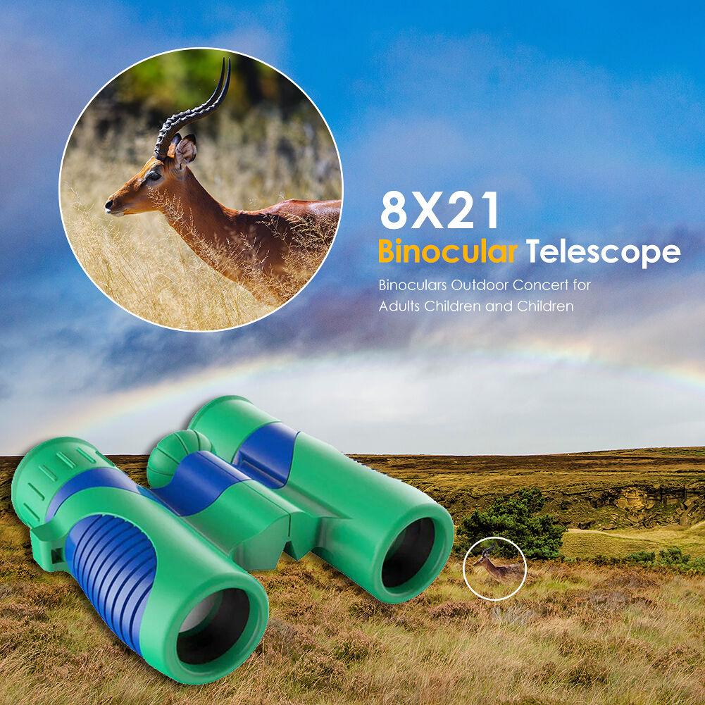 8X Binocular Scope Beach Travel Outdoor Bird Watching BAK7 Prism Telescope