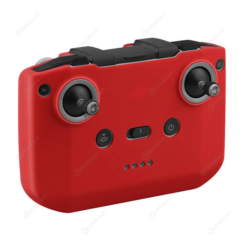 For DJI Mavic Air 2 Silicone Remote Control Protective Cover (Red)