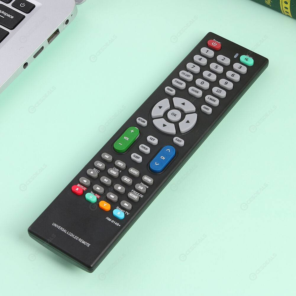 RM-014S+ Universal LCD LED Television Smart TV Replacement Remote Control