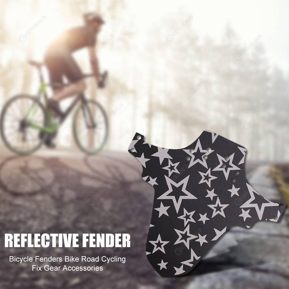 Road Bicycle Carbon Fiber Splash Fender Mudguard for Front/Rear Tire (1)