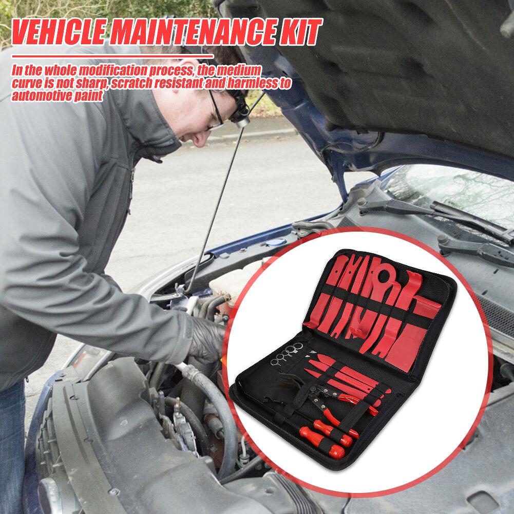 Plastic Car Repair Inside Door Plank Lever Car Stereo Disassembly Tool Kit